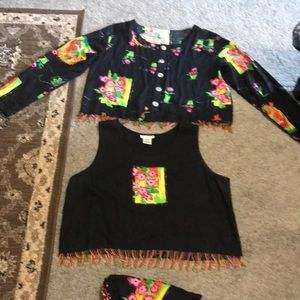 Beautiful large size 3 pieces colorful set